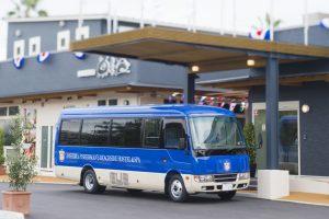 球春到来!!キャンプ観戦にはホステルのシャトルバスを