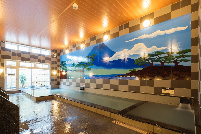 宮崎市内で入れる本格天然美肌アルカリ温泉「神話の湯」でのんびり温まりませんか?